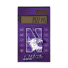 Northwestern Wildcats Desktop Calculator NCAA