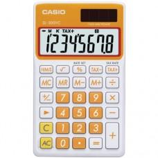 Casio SL-300VC Standard Function Calculator, Orange