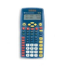 Texas Instruments TI-15 Scientific Calculator - 2 Line(s) - 11 Character(s) - Battery, Solar Powered 15/TBL/2L1/A