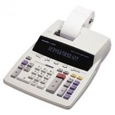 * EL2630PIII Two-Color Printing Calculator, 12-Digit Fluorescent, Black/Red