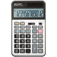 SHARP practice calculator nice size type EL-N942X