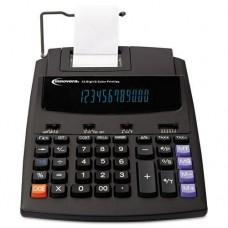 INNOVERA 16000 Two-Color Roller Printing Calculator, Black/Red Print, 2.7 Lines/Sec (16000)
