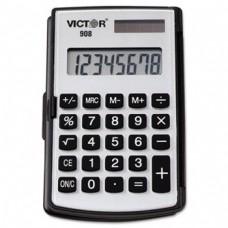 908 Portable Pocket/Handheld Calculator, 8-Digit LCD