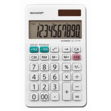 Sharp EL377WB EL-377WB Large Pocket Calculator, 10-Digit LCD