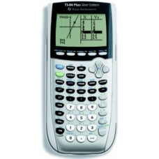 Texas Instrument Texas Ti-84Plse Graphic - Silver W/Flash Software (Office Machine / Calculators)
