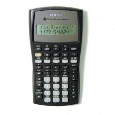 "Texas Instruments Financial Calculator, Advanced, w/ Case, 3""x6""x3/5"", BK/GY (BAIIPLUS)"