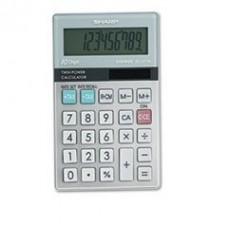 - EL377TB Handheld Business Calculator, 10-Digit LCD
