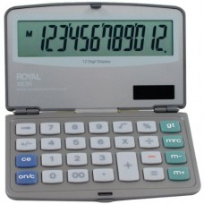 ROYAL 29305Y Folding Solar 12-Digit Calculator (29305Y)