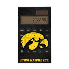 Iowa Hawkeyes Desktop Calculator officially licensed by the University of Iowa Full Size Large Button Solar by keyscaper®