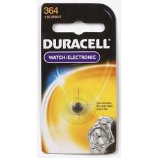 4 each: Duracell Silver Oxide Watch/ Calculator Battery (D364BPK)