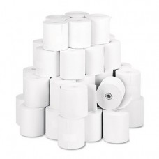 "NCR 856348 Thermal Receipt Paper, 3-1/8"" x 230', White, 50 Rolls/Pk"