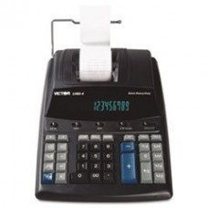* 1460-4 Extra Heavy-Duty Two-Color Printing Calculator, 12-Digit Display