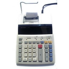 Sharp EL-1801P 2-Digit 2-Color Serial Printing Calculator