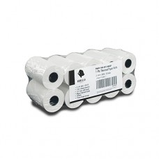 Gorilla Supply Thermal Paper Rolls 2-1/4 10 Rolls Wrapped (2.25in-x-50ft)