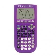 Guerrilla Silicone Case for Texas Instruments TI-84 Plus Graphing Calculator, Purple