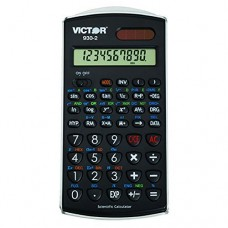 VICTOR TECHNOLOGY SCIENTIFIC CALCULATOR W SOLAR POWER (Set of 3)