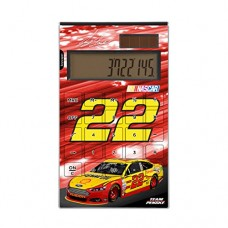 Joey Logano Desktop Calculator Number 22 Shell Pennzoil NASCAR