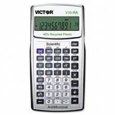Victor V30RA Scientific Recycled Calculator with AntiMicrobial Protection