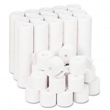 """Adding Machine/Calculator Roll, 16 lb, 1/2"""" Core, 2-1/4"""" x 165 ft, White, 100/CT, Sold as 2 Carton, 100 Roll per Carton"""