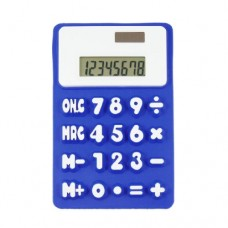 Student Office Dark Blue White 8 Digits 20 Button Calculator