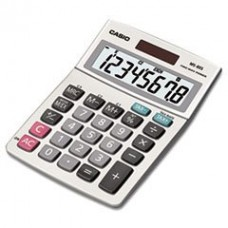 * MS-80S Tax and Currency Calculator, 8-Digit LCD