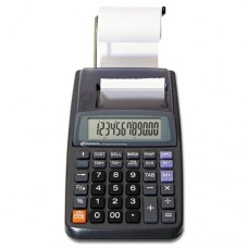 Innovera 16010 One-Color Printing Calculator, 12-Digit LCD, Black