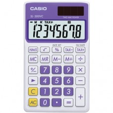 Casio SL-300VC Standard Function Calculator, Purple