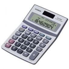 Casio MS-300M Desktop Calculator - 3 Line(s) - 8 Character(s) - Battery/Solar Powered - MS-300M