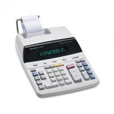 - EL2192RII Two-Color Roller Printing Calculator, Black/Red Print, 3 Lines/Sec
