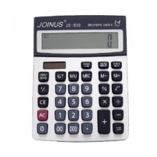 JOINUS JS-839 Dual Power 12 Digit Calculator