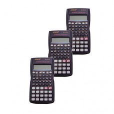Pack of 3, JOINUS JS-82TL-A 10 Digit And 2-Line Scientific Calculator