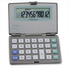 Royal XE12 12 Digit Calculator w/ Compact Case (Part 29303L) from ABC Office