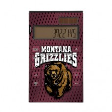 Montana Grizzlies Desktop Calculator officially licensed by the University of Montana Full Size Large Button Solar by keyscaper®