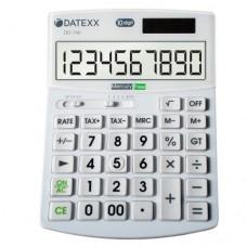 Datexx DD-740 Hybrid Power 10 Digit Desktop Calculator