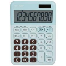 SHARP color calculator mini nice size Blue