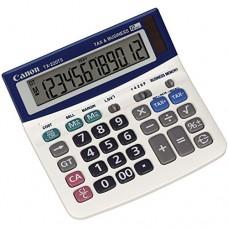 Canon TX220TSII Desktop Calculator 12-Digit White