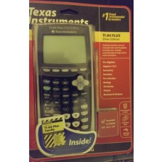Texas Instruments TI-84 Plus Silver Edition Black Graphing Calculator