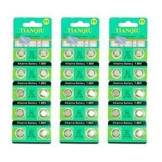 Bluecell 30 Pcs AG10 Alkaline Button Cell Battery 389A CX189 LR1130W for Watch Toy Calculator