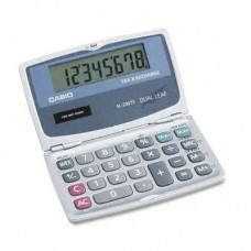 Casio Folding Tax And Currency Exchange Calcuator