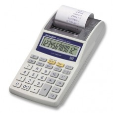 EL-1611P Handheld Calculator, 12-Digit LCD, One-Color Printing (Pack of 5)