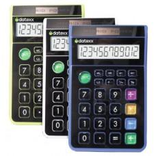 Teledex Inc DD-612 Hybrid Desk 8 Digit Calculator Assorted Colors