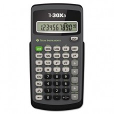 ** TI-30Xa Scientific Calculator, 10-Digit LCD