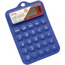 ROYAL PURPLE Royal 29311R Rubber Calculator (Blue)