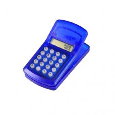 Dimart Royal Blue Shell Refrigerator Magnet 8 Digits Mini Clip Pocket Calculator