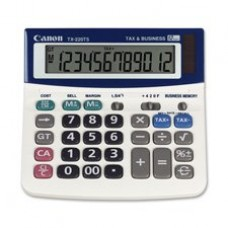 Canon TX220TS - TX220TS Mini Desktop Handheld Calculator, 12-Digit LCD