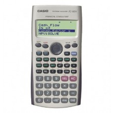 CASIO FINANCIAL CALC SILVER FC-100V-UM