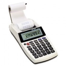 - 1205-4 Palm/Desktop One-Color Printing Calculator, Black Print, 2 Lines/Sec