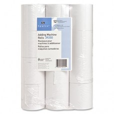 S.P. Richards Company Adding Machine Rolls, 3 x 165 Inches, 12 Pack, White (SPR39250)