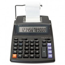 Innovera 16015 Two-Color Roller Printing Calculator, 12-Digit LCD, Black/Red