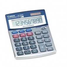 "Canon USADesktop Calculator, Dual Power, 10 Digits, 4""x5-1/3""x1-1/5"""